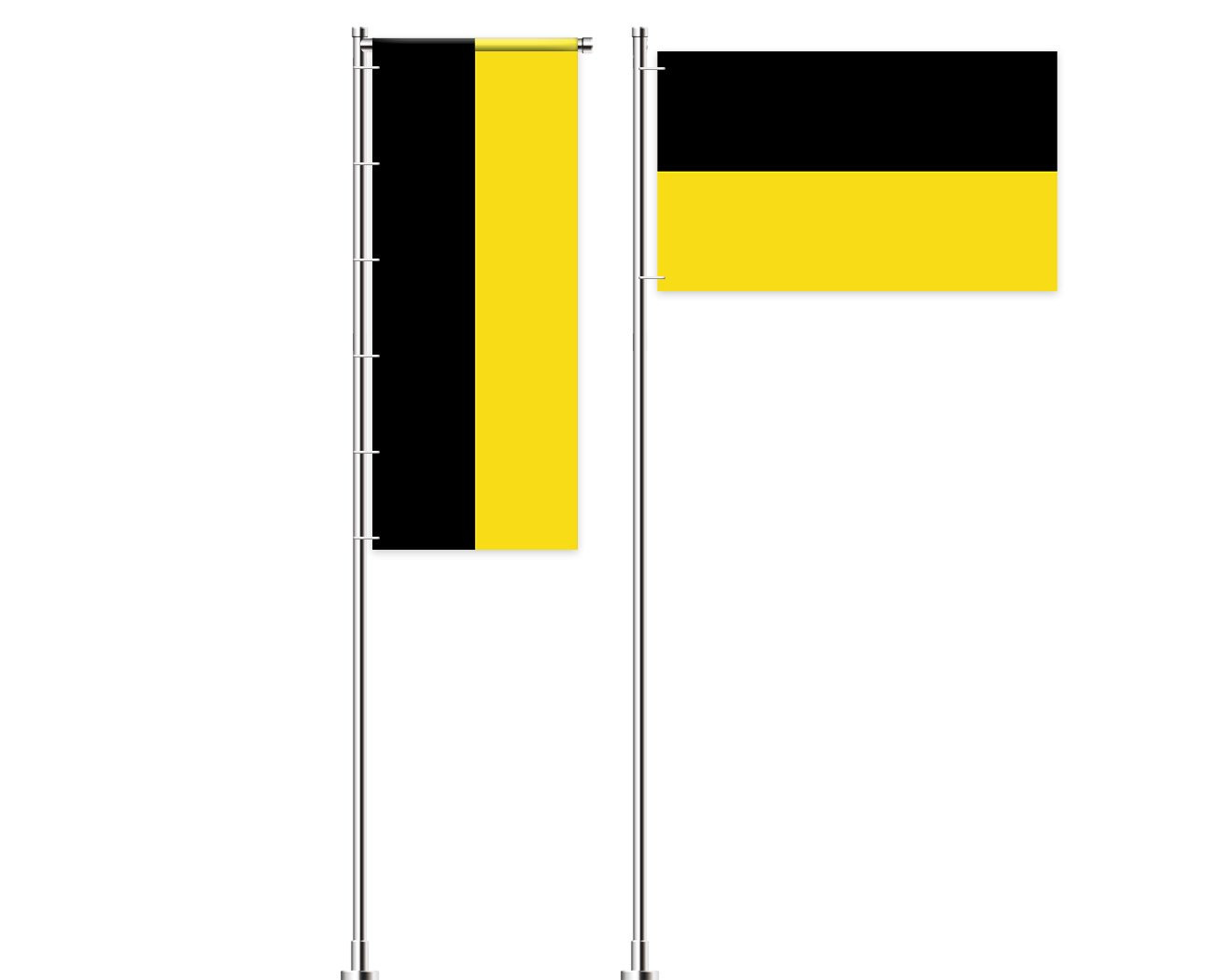 Baden-Württemberg-Flagge bedrucken lassen