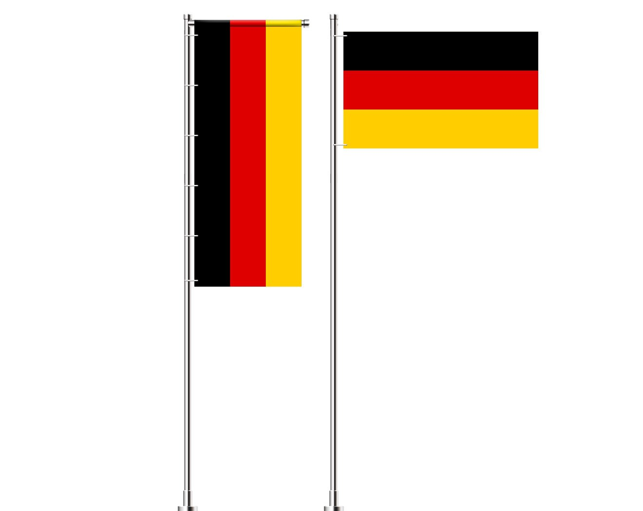 Deutschland-Flagge bedrucken lassen