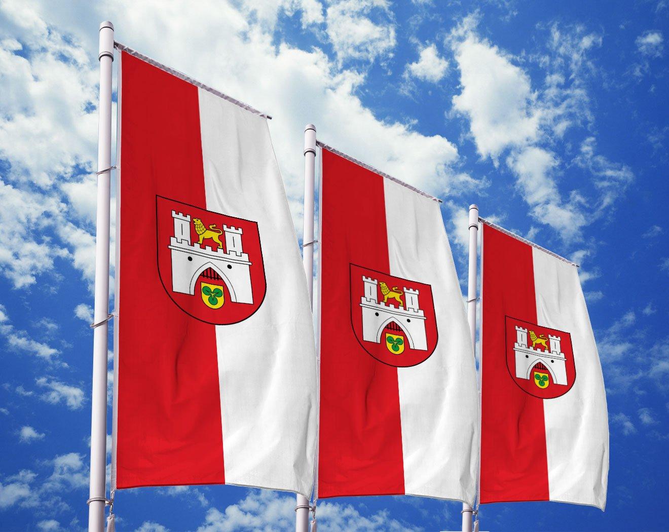 Hannover-Flagge mit Wappen bedrucken lassen