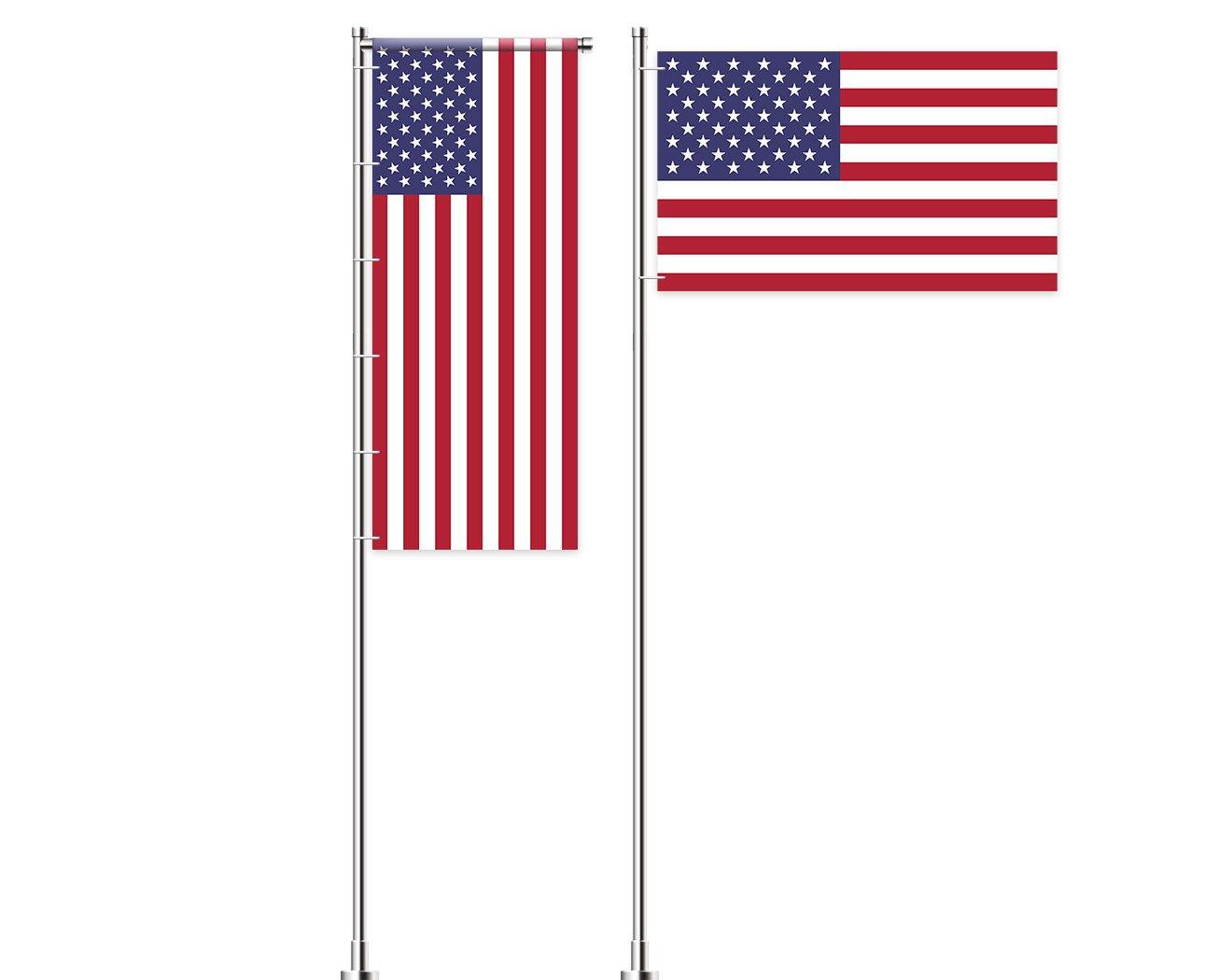 Vereinigte Staaten-Flagge bedrucken lassen