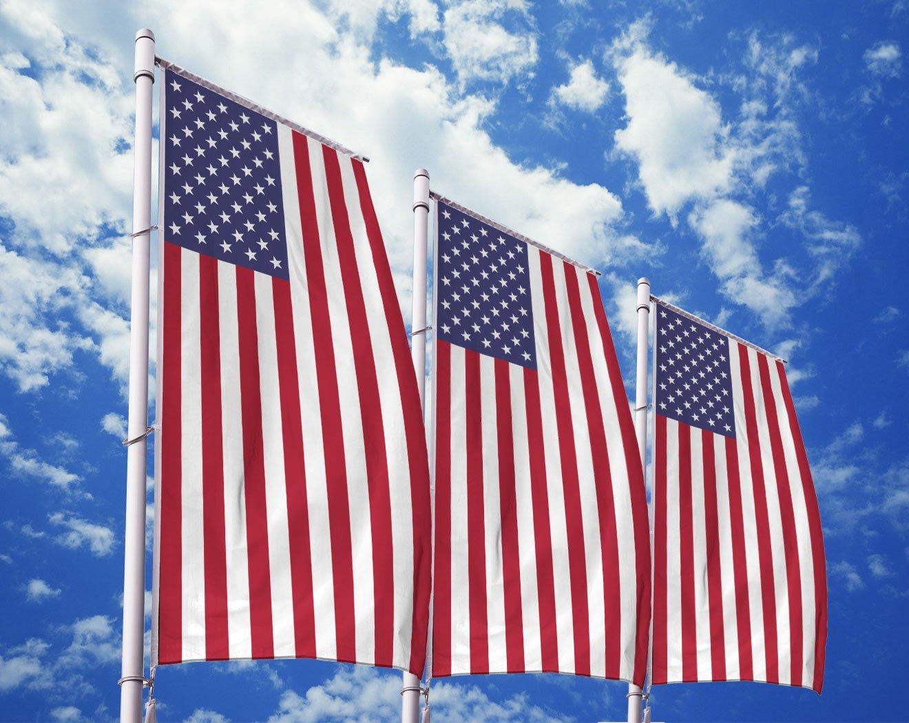 Amerika-Flagge bedrucken lassen