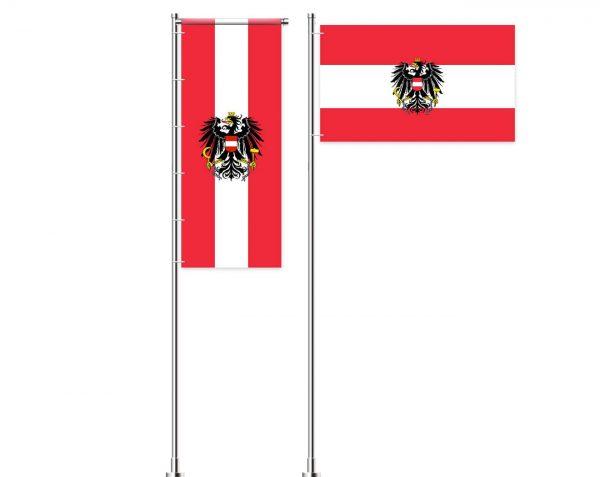 Österreich / Austria Werbefahne - Werbeflagge