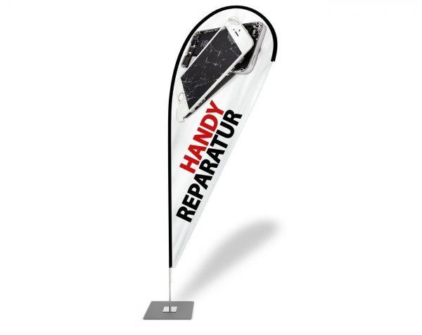Handy Reparatur / Service Beachflag - Werbefahne - Werbebanner