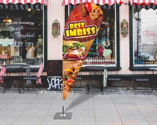 Best Imbiss - Werbefahne - Werbebanner