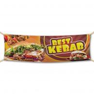 Best Kebab - Werbebanner - PVC Planen Werbeplane