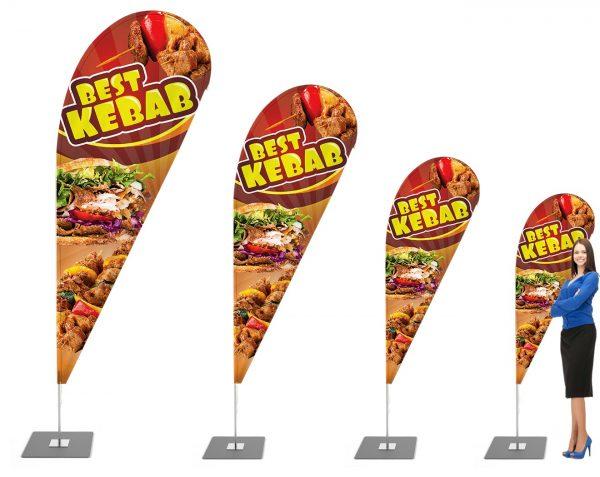 Best Kebab - Werbefahne - Werbebanner