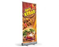 Best Kebab - Roll-Up - Werbebanner Werbeplane PV