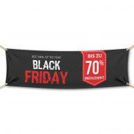 Black Friday - Werbebanner - PVC Planen Werbeplane
