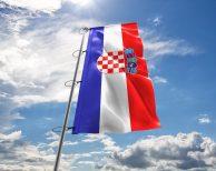 Kroatien / Kroatische - Flagge, Fahne , Hissflagge in vielen Größen und Befestigungen (Premiumqualität)