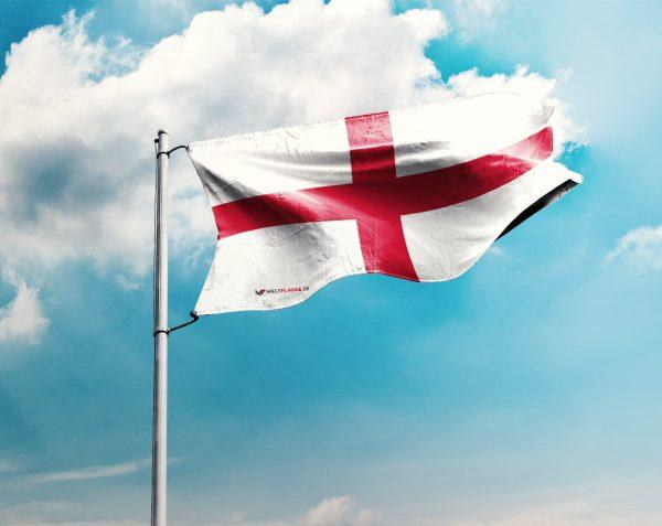 England / Englische / Britischen Fahne - in vielen Größen und Befestigungen (Handmade - Premiumqualität)