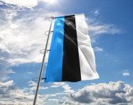 Estland / Estnische / Estonia Fahne, Hissflagge in vielen Größen und Befestigungen (Premiumqualität)