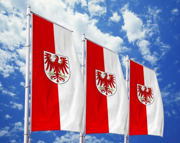 Brandenburg - Flagge, Fahne , Hissflagge in vielen Größen und Befestigungen