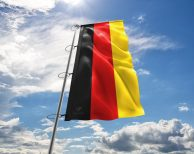 Deutschland National Flagge (Handmade – Premiumqualität) - Hissfahne Flagge
