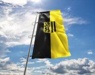 Dresden - Flagge, Fahne, Hissflagge in vielen Größen und Befestigungen (Premiumqualität)
