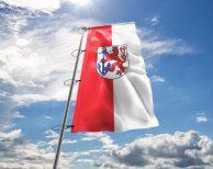 Düsseldorf - Flagge, Fahne , Hissflagge in vielen Größen und Befestigungen (Premiumqualität)