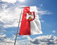 Hannover - Flagge, Fahne , Hissflagge in vielen Größen und Befestigungen (Premiumqualität)