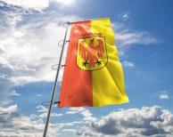 Potsdam - Flagge, Fahne , Hissflagge in vielen Größen und Befestigungen (Premiumqualität)