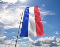 Frankreich / Französische / France Fahne, Hissflagge - in vielen Größen und Befestigungen (Handmade - Premiumqualität)