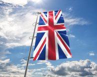 Großbritannien / Britischen / Vereinigten Königreiches / United Kingdom Fahne, Hissflagge in vielen Größen und Befestigungen (Premiumqualität)