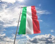 Italien / Italienische / Italy Fahne, Hissflagge - in vielen Größen und Befestigungen (Handmade - Premiumqualität)