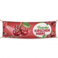 Kirschen / Cherry - Werbebanner, Werbeplane