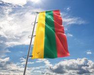 Litauen / Litauische / Lithuania Fahne, Hissflagge in vielen Größen und Befestigungen (Premiumqualität)