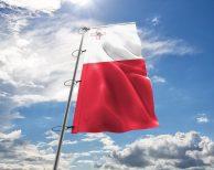Malta / Maltesische Fahne, Hissflagge in vielen Größen und Befestigungen (Premiumqualität)