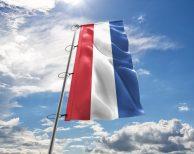 Niederlande / Niederländischen / Netherlands Fahne, Hissflagge - in vielen Größen und Befestigungen (Handmade - Premiumqualität)