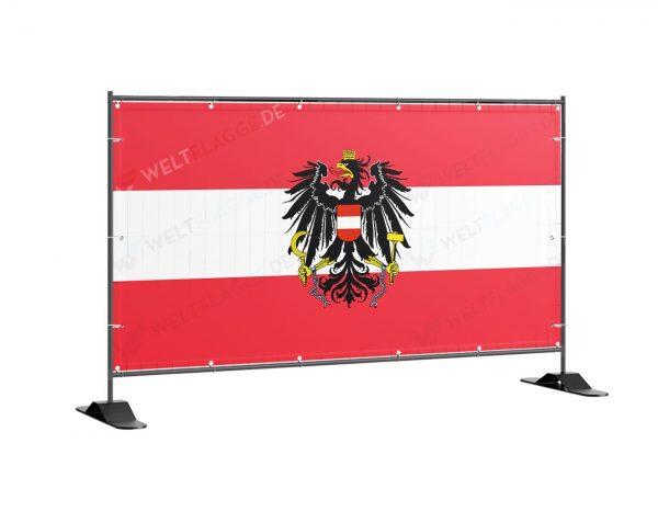Österreich Bauzaunbanner - banner - plane