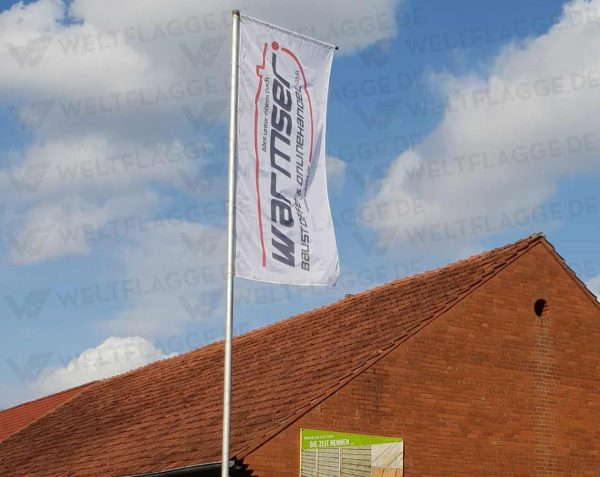 Werbefahne - Werbeflagge bedrucken