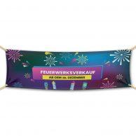 Feuerwerksverkauf ab dem 28. Dezember v3 - Werbebanner - PVC Planen Werbeplane