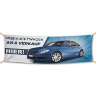 Gebrauchtwagen An Und Verkauf - Werbebanner - PVC Planen Werbeplane