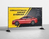 Gebrauchtwagen Ankauf Und Verkauf - PVC Plane für Bauzäune / Banner