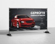 Geprüfte Gebrauchtwagen - PVC Plane für Bauzäune / Banner