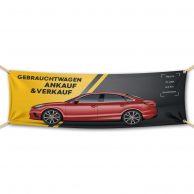 Gebrauchtwagen Ankauf Und Verkauf - Werbebanner - PVC Planen Werbeplane