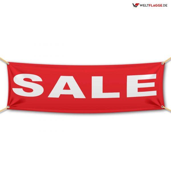 SALE – Werbebanner – PVC Planen Werbeplane / rot